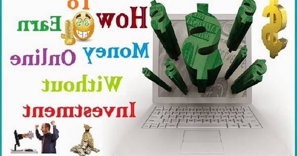 Make Money Online With No Cost